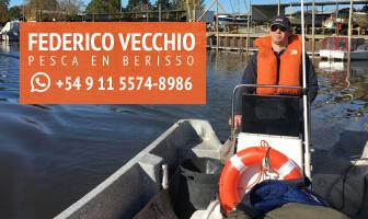 Federico Vecchio - Pesca en Berisso