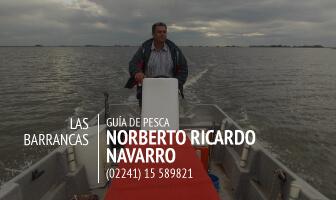 Norberto Ricardo Navarro - Guia de pesca
