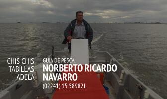 Norberto Ricardo Navarrro Guía de Pesca